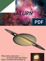 Planet Saturn Presentation