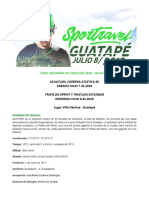 CONVOCATORIA Triatlon Guatape Oficial 2018
