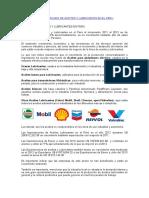 Datos Del Mercado de Aceites Lubricantes en El Peru