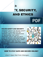 Online Safety and Security