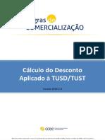 15 - Cálculo Do Desconto Aplicado à TUSDTUST_2019.1.0 _(Jan-19)