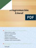 Art4- Programacion Lineal e Ingenieria Idnustrial