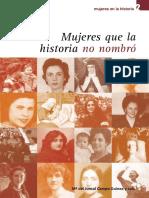 Mujeres que la historia no nombró.pdf