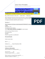 Engexam.info-IELTS Listening Practice Test 3 Printable