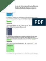 Libros de Ingeniria civil