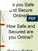 Online Safety, Security, Ethics, And Etiquette