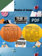 classification of change