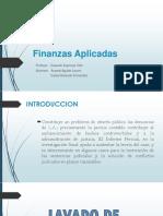 PPT finanzas aplicadas