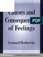 (Studies in Emotion and Social Interaction) Leonard Berkowitz-Causes and Consequences of Feelings -Cambridge University Press (2000)