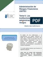 Administración de Riesgos en Las Finanzas IV. México. Unitec