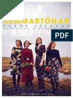 Summartónar 2019  Music Festival FAROE ISLANDS