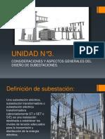 UNIDAD N°3,subestaciones