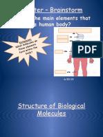 Biological Molecules 10B