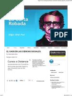 EL CAOS EN LAS CIENCIAS SOCIALES..pdf