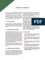 Análisis Armónico - Wiki