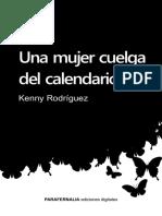 Una Muje RCuelga Del Calendario