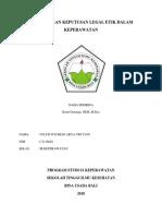 KONSEP KEPERAWATAN DASAR I.docx