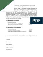 ACTA DE CONSTITUCIÓN DEL COMITÉ DE SEGURIDAD Y SALUD EN EL TRABAJO.docx