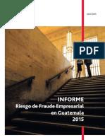 Informe Riesgo de Fraude Empresarial 2015