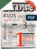 The Best of Newspaper Design