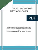 Sagar Kulkarni 151202084 Learning Methodologies