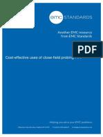 Cost-effective Close-field Probing 1 of 2 Nov 20 2013 1