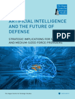 Artificial Intelligence and the Future of Defense