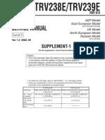 Sony Dcr-trv238 Trv239 Supp Level-2 Ver-1.3