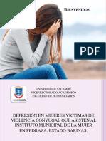 presentacion de power ponit sobre depresion en mujeres victimas de violencia conyugal