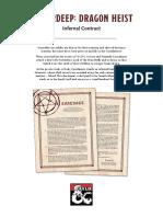 Waterdeep Dragon Heist - Infernal Contract