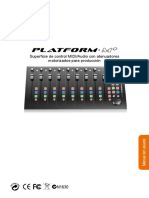 Platform M User Manual Spanish