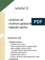 Archivní síť