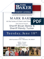Mark Baker Fundraiser Jun 18