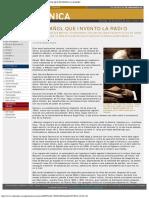 - El Mundo _ Suplemento Cronica 524 - El Español Que Invento La Radio