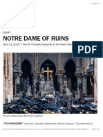 Notre Dame of Ruins - Artforum International