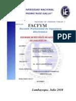 Informe de Revision de Articulos Tecnologicos