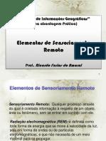 CursoSIG Sensoriamento Remoto 2011