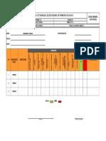 F-SR-SGS-13 Check List Botiquines de Primeros Auxilios