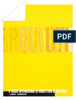 6ª Bienal Internacional de Arquitetura de São Paulo – Viver na cidade (2005)
