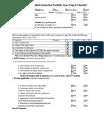 ddi cas cover page   checklist 2019