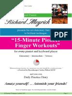 15 minute finger game