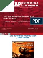 Plantilla Uap 2019-1b - Sesion 6. Los Metodos de Interpretacion Constitucional