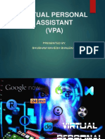 Virtual Assistant 160214154006