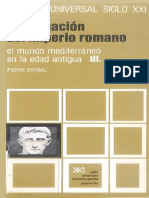 7 - El Mundo Mediterráneo en La Edad Antigua. Vol. III. La Formación Del Imperio Romano - Grimal, Pierre