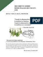 Diccionario Plantas Medicinales Ronal Vargas Araya