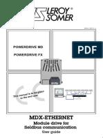 MDX Ethernet - Leroy Somer - 2011