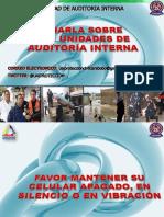 Taller Unidad Auditoría Directores y Jefes Pcc