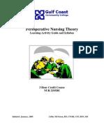 PerioperativeNursingTheoryClass