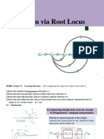 Lectures 26-30 PI, Lag, PD and Lead Compensators Chapter-9 Design via Root Locus