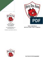 DDA-15-B Rifle Safety Manual